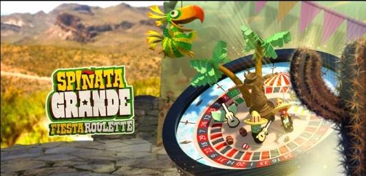 Spinata Grande mit € 100 Bonus bei Mr Green spielen